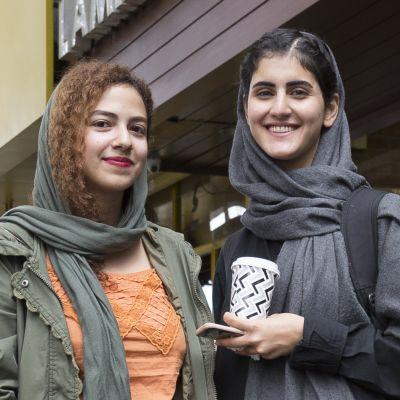 Darya Hoseini ja Fakhte Pakserest