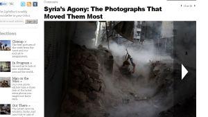 Niklas Meltios bild från Syrien i tidningen Time