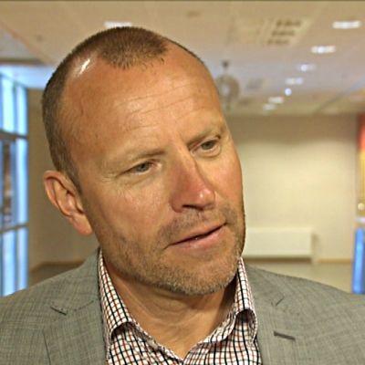 Chefredaktör Peter Fellman från Dagens industri