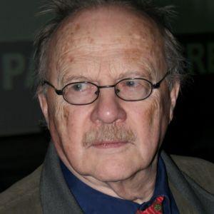 Skriftställaren Jan Myrdal år 2007.