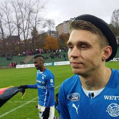 Aleksandr Kokko gjorde 17 mål för RoPS 2015.