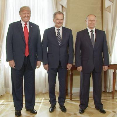 Trump Niinisto Putin