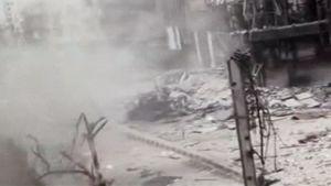 Homs 14.4.2012  (Amatörfoto, äktheten inte bekräftad)