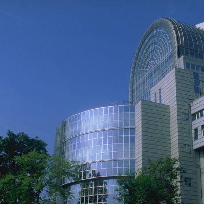 EU-parlamentsbyggnaden i Bryssel