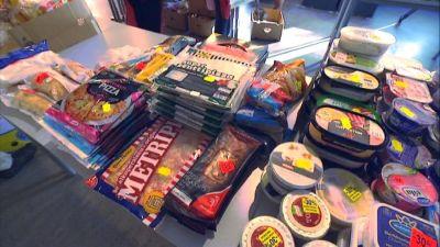 Mathjälp Vasa delar ut mat flera gånger i veckan.