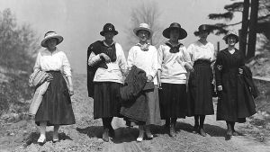 Kvinnor i Englington på 1800-talet