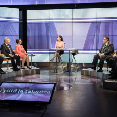 Partiledardebatt 7 april 2016