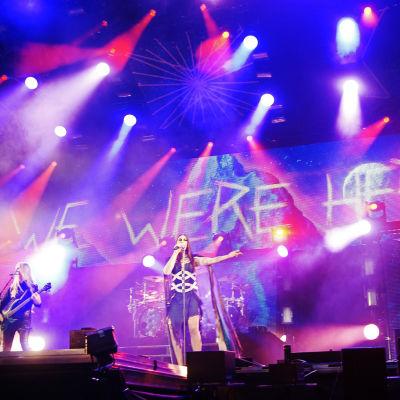 Nightwish esiintyy Méxicossa