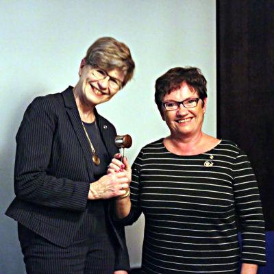 Monica Avellan och Ulrika Jansson