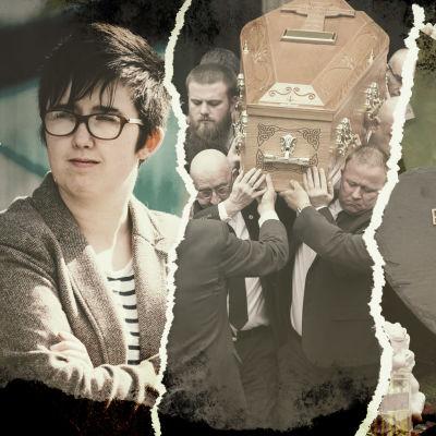 Kuvakollaasi Lyra McKeestä, joka surmattiin huhtikuussa 2019 Pohjois-Irlannissa.