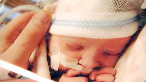 Saana Kurun vauvakuva