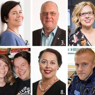 Vuoden turkulainen 2016 -ehdokkaat