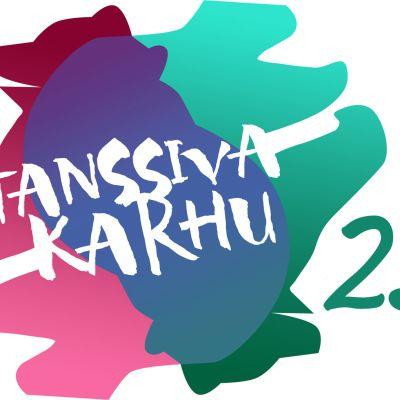 Tanssiva karhu -palkinto 25 vuotta logo