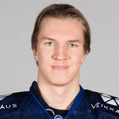 Anton Lundell fick dra på sig A-landslagströjan i Malmö