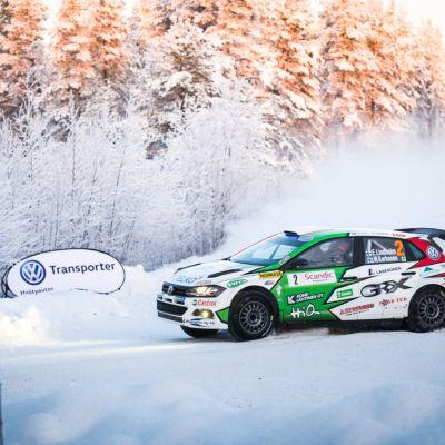 Emil Lindholm SM-ralli Rovaniemi