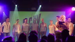 mr gay finland 2011 tävlingen