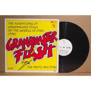 The adventures of grandmaster flash on the wheels of steel-vinylsingel