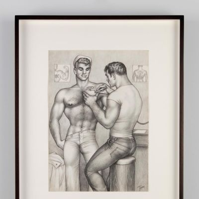 Tom of Finland, Untitled, 1962.