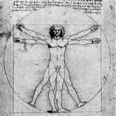 Piirustus ihmisen mittasuhteista
