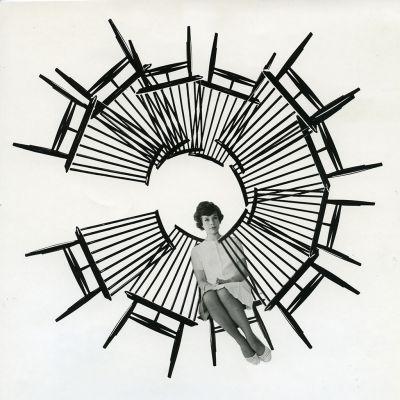 Mademoiselle-tuolin markkinointikuva.