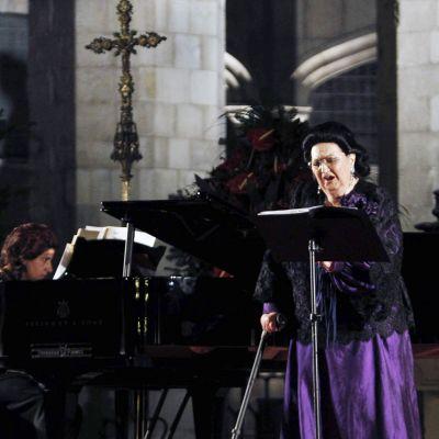 Montserrat Caballén.