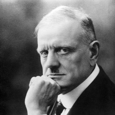 Jean Sibelius 1920-luvun alussa.