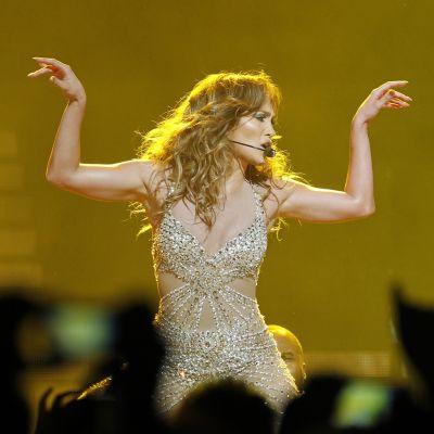 Jennifer Lopez esiintyi Australiassa joulukuussa 2012.