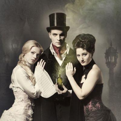 Jekyll & Hyde -näytelmän juliste.