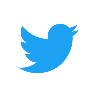 Twitter-logo, sininen lintu