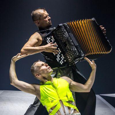 Kimmo Pohjonen ja Tero Saarinen.