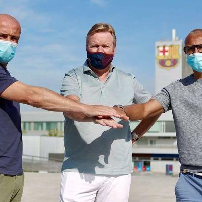 Henrik Larsson återvänder till Barcelona.