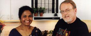 Bridget Nyström ja Johan von Bonsdorff ohjelmassa Kaiken maailman makuja
