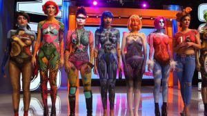 Skärmdump ur tv-serien skin wars