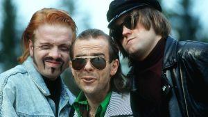 Heikki Silvennoinen, Timo Kahilainen ja Olli Keskinen. 1991.