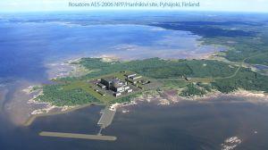 Bild av hur Fennovoimas kärnkraftverk kan komma att se ut.