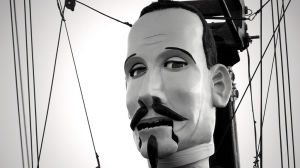 Marionettinukke näytelmäkirjailija Lope de Vegasta