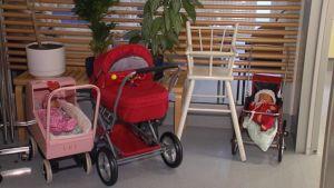 Bild från Barnkliniken i Helsingfors