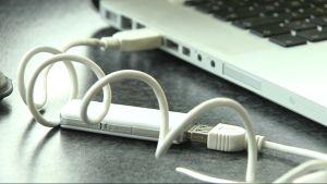 Dator med internetanslutning