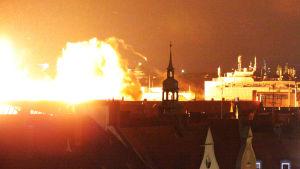 München bombas under kriget.
