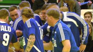 Finland tog sig vidare till EM-kval i handboll.