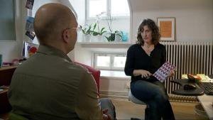 Ann Fernholm intervjuas av Kjell Lindroos på Spotlight