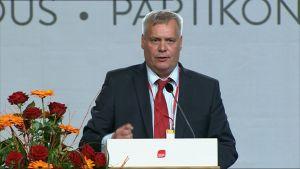 Socialdemokraternas nya ordförande