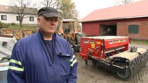 Holger Falck klar för vårbruket