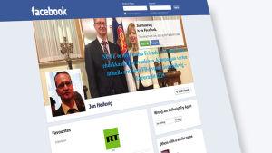 Självständighetspartiets EU-kandidat Jon Hellevig har publicerat en rad grova kränkningar om operasångerskan Karita Mattila på sin Facebook-sida.