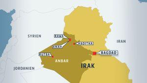 Anbarprovinsen i Irak.