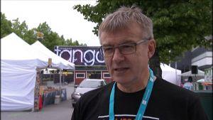 Kalle Lähdesmäki, ordförande för Tangomarkkinats styrelse