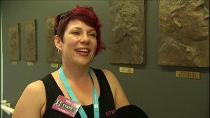 Niina Huhtala arrangerar danslägret på Tangomarkkinat.
