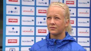 Adelina Engman inför VM.