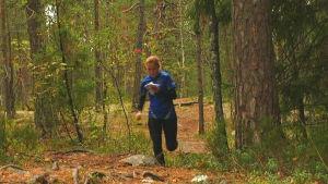 KArolina Martikainen tränar inför Kadaverloppet