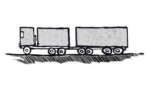 Varsinainen perävaunuyhdistelmä